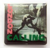 The Clash - 'London Calling' Square Badge